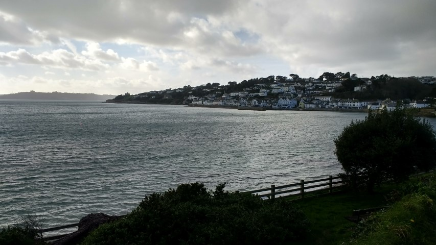 St Mawes. An attractive riviera style town which deserves further investigation.