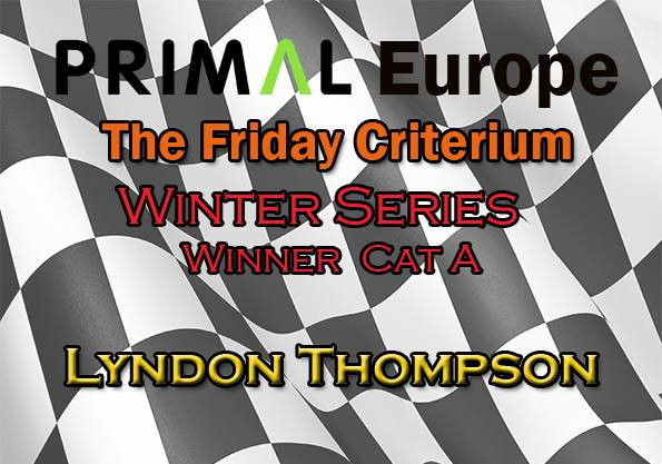 TFC Winter Series and TFC Spring Series 1 Overall Winner