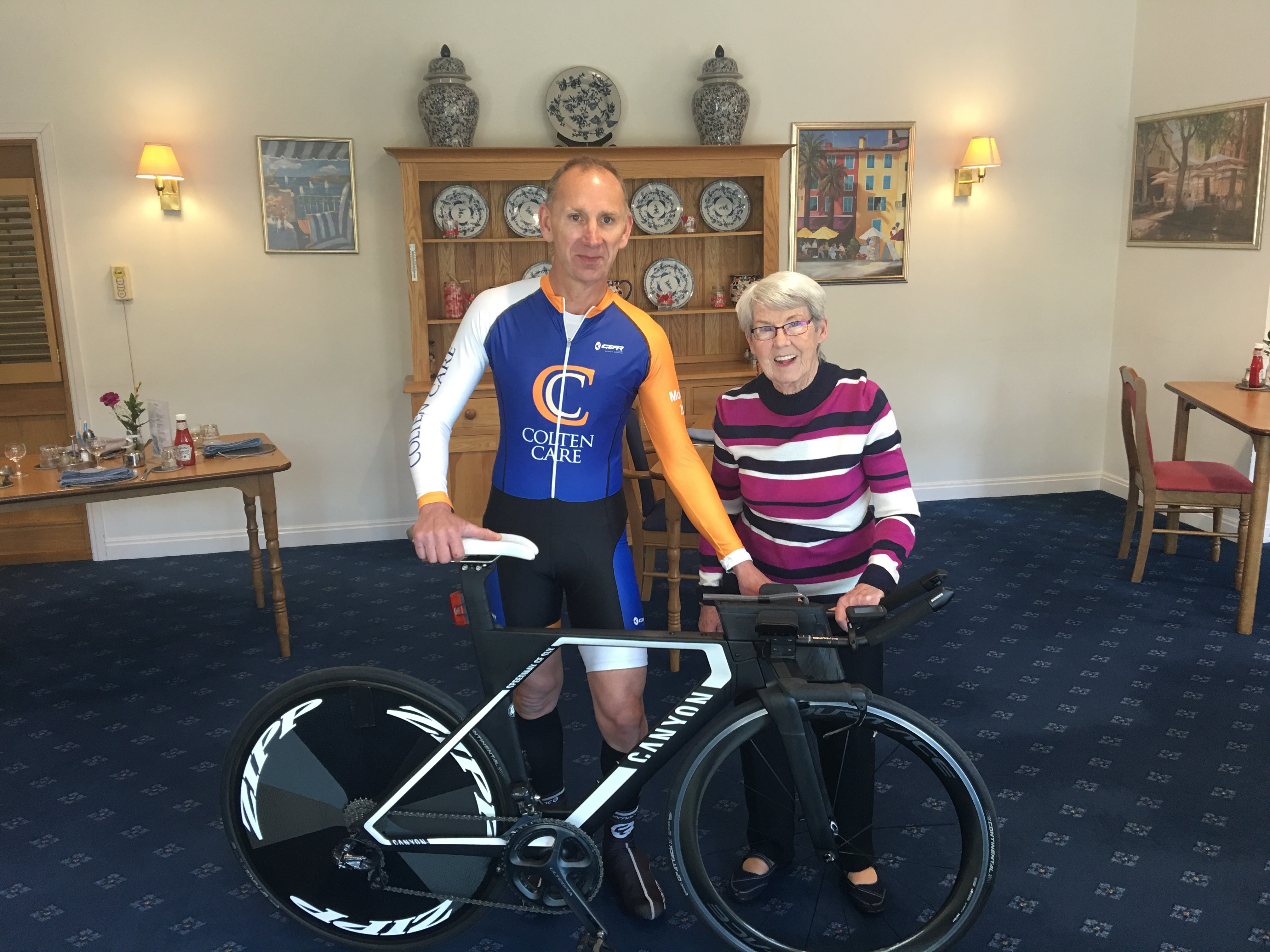 Promoting Cycling for all ages with Colten Care
